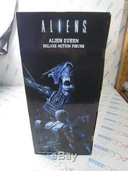 NECA Movie Aliens 15 Alien Queen Xenomorph Deluxe Action Figure Reel Toys