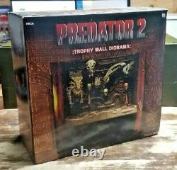 NECA Predator 2 TROPHY WALL DIORAMA Only 5,000 Made (7-Inch Scale) Action Figure