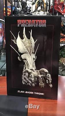 NECA Predator Clan Leader Alien Bone Throne Diorama Element 14'' Tall RESIN NEW