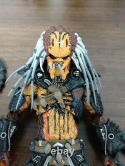 NECA Predator Deluxe Clan Leader Figure