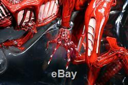 NECA Red Alien Queen Xenomorph Genocide 15 Action Figure Ultra Deluxe Aliens