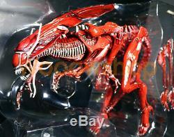 NECA Red Alien Queen Xenomorph Genocide Ultra Deluxe 15 Action Figure Aliens