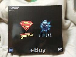 NECA SDCC 2019 DC Superman vs Alien 2 pack 7 Action Figures Exclusive