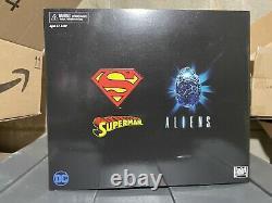 NECA SDCC 2019 Superman vs Alien Action FIgure Set