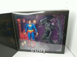 NECA SDCC 2019 Superman vs Alien Action FIgure Set McFarlane DC Comics JLA