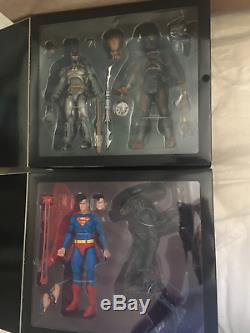 NECA SDCC 2019 Superman vs Alien and Batman vs Predator 2-Pack Action Figures