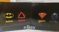 NECA SDCC 2019 Superman vs Alien and Batman vs Predator 2-Pack Sets