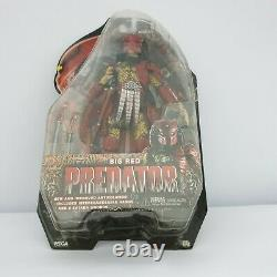 NECA Series 7 Big Red Predator Aliens Action Figure 2012 New Sealed