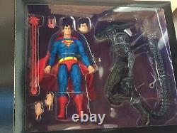NECA Superman vs Alien 2 Pack Figure Set SDCC 2019 EXCLUSIVE NEW UNOPENED Mint