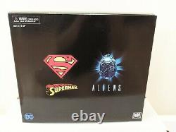 NECA Superman vs Alien Xenomorph 2 Pack Figure Set SDCC 2019. NRFB Sealed