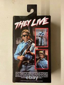 NECA They Live Nada Exclusive Frank Alien Male & Female 2 Pack Action Figure Set