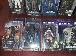 NECA ULTIMATE lot 12 ALIEN AVP Aliens HICKS RIPLEY Xenomorph BISHOP KANE RARE