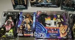 NECA alien vs Predator lot AVP Aliens Xenomorph rare new Ripley Dallas Kane