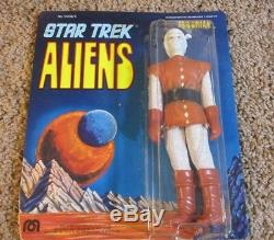 NEW 1976 Mego Star Trek Aliens Andorian. Still Sealed in Package. Unpunched