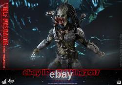 NEW Hot Toys MMS 443 Aliens vs Predator AVP Requiem Wolf Predator Heavy Weapon