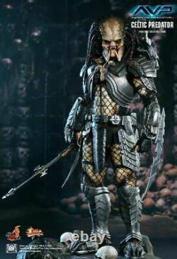 NEW RARE Hot Toys MMS221 Alien VS Predator Celtic predator 1/6 Scale Figure UK