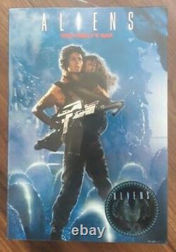 Neca Action Figure Horror Aliens Rescuing Newt Ripley Deluxe Set