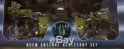 Neca Aliens Dwayne Hicks, William Hudson, & 30th Anniversay Uscm Arsenal Set-new