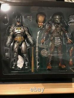 Neca Batman VS Predator SDCC 2019 Exclusive Pre-Owned Complete READ DESCRIPTION