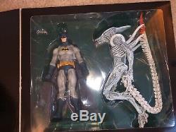 Neca DC SDCC & NYCC Sets. 4 Packs, AVP Batman, Superman Alien, Lantern Predator