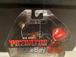 Neca PREDATOR BIG RED 7 inch Action Figure Batman Dead End Samurai NEW Alien