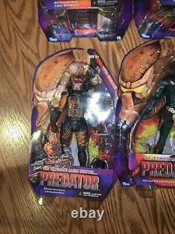 Neca Predators The Ultimate Alien Predator Action Figures Lot