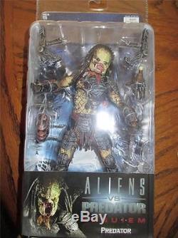 Neca Reel Toys AVPR Aliens Vs Predator Requiem Action Figure MOC Predator
