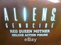 Neca Xenomorph Aliens GENOCIDE Red Queen 15 Ultra Deluxe Action