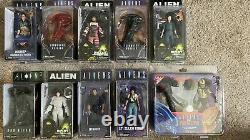 New in package Neca Alien + Predator lot