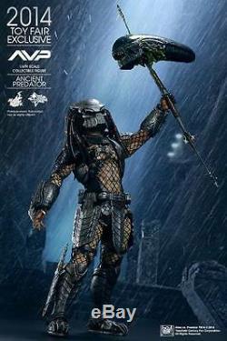 Open Box Hot Toys 1/6 Alien Vs Predator AVP Ancient Predator MMS250