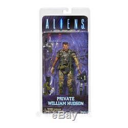 PRIVATE WILLIAM HUDSON figure ALIENS space COLONIAL MARINES neca SERIES 1 2013