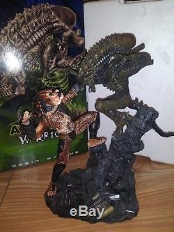 Palisades Alien Vs Predator Deluxe Poly Resin Statue