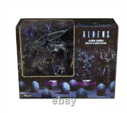 Perfect Neca 15 Inches Alien Queen Blue Action Figure Toy Birthday Present Stock