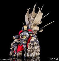 Predator 14 Clan Leader Figure Throne Neca Alien Queen Skull Bone MISB Diorama
