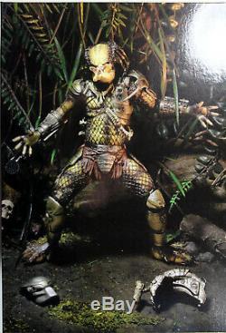 Predator ULTIMATE JUNGLE HUNTER PREDATOR ACTION FIGURE NECA Aliens AVP