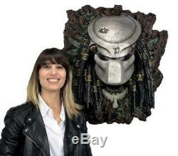 Predator life size bust 11 masked wall mounted Neca Nt Sideshow Alien statue