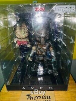 Predator vs Alien AVPR Wolf Predator THREE B SIDESHOW Rare