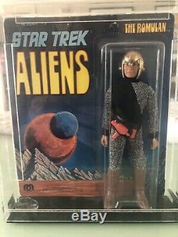 RARE High Grade Vintage Star Trek 1976 Mego Romulan Aliens Series 9.5 SEALED