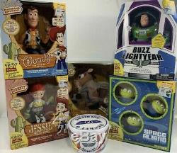 RARE! Toy Story Signature Collection Woody Jessie Buzz Bullseye Aliens Soldiers