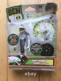 Rare Sealed Ben 10 Action figure Ripjaws (97736) Alien Collection BanDai
