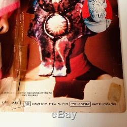 Rare Vintage Martian Chronicles Approx 8 Mego size Figure Ray Bradbury On Card