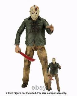 Riesige NECA 1/4 50cm Action Figur Jason Vorhees Freitag der 13te