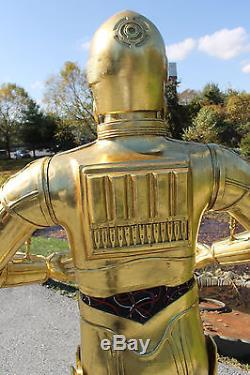 Robot Android C3PO life size Space R2D2 movie prop Toy Action Figure alien