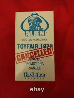 SDCC 2013 Super7 Reaction Alien & Kane figures Toyfair 1979 Cancelled AP Sample