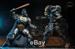 SDCC 2019 EXCLUSIVE NECA Batman v Predator & Superman v Alien Bundle Preorder