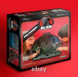 SDCC Super7 ReAction ALIEN EGG CHAMBER ACTION PLAYSET BRAND NEW MIB