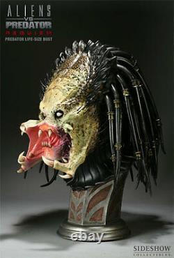 SIDESHOW Aliens vs. Predator Requiem PREDATOR LIFE-SIZE BUST