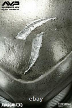 SIDESHOW SCAR PREDATOR SIZE MASK STATUE LIFE 11 SIZE Prop Replica Maquette