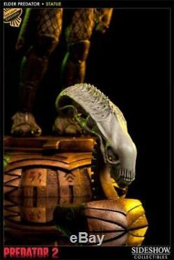 Sideshow Exclusive Elder Predator Polystone Statue Maquette Alien Premium Figure