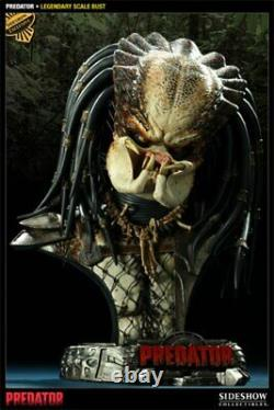 Sideshow Exclusive Predator Low #3/500 Legendary Scale Bust Statue New! Statue